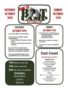 East Coast Boot Camp 2015