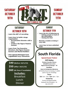 South FL Boot Camp 2015